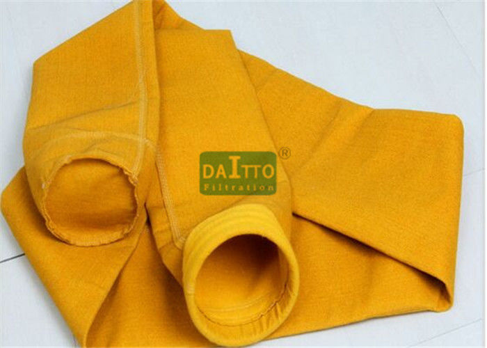 Polyamide P84 Dust Filter Bag Non Woven Anti Static Featuring Custom Diameter