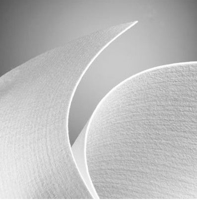 Antistatic Needle Felt Filter Cloth , Non Woven Polyester Filter Material