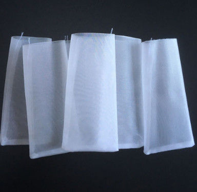 Customized Size High Temperature Filter Bags , Recyclable Filter Media Bags