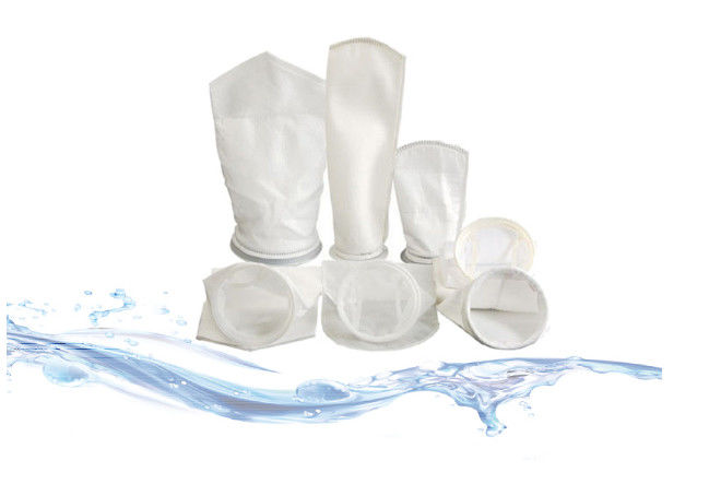 Acids Resistant Liquid Filter Bags Loose Fibrous Structure For Water Treatment