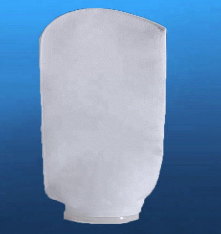 1um - 200um Liquid Filter Bags With Glazed Layer Securing Downstream Matrix