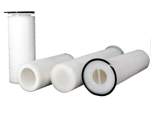 Replacement GF / PP Pleated Filter Cartridge For Sea Water Desalination